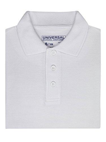 unisex-boys-girls-short-sleeve-pique-polo-shirt-w-stain-release-by-univ-skustaniu838wht8-colorwhite-