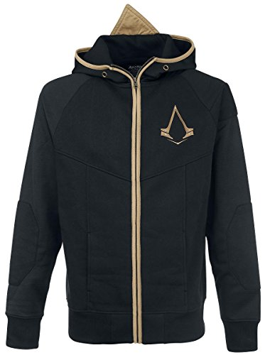 Assassin's Creed Logo Felpa jogging nero/oro 4XL