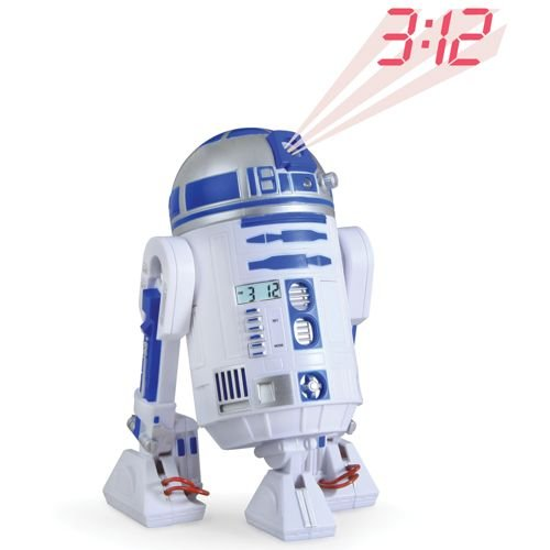 The R2-D2 Projection Alarm Clock.