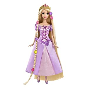 Disney Tangled Featuring Rapunzel Grow and Style Doll