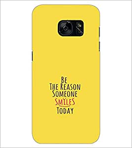 PrintDhaba Quote D-1130 Back Case Cover for SAMSUNG GALAXY S7 (Multi-Coloured)