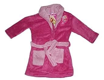 peignoir pour fille motif barbie 1 2 3 4 5 6 7 8 ans v tements et accessoires. Black Bedroom Furniture Sets. Home Design Ideas