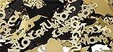 Graduation Confetti Mortarboard Congratulations Black Gold 1-oz Bag