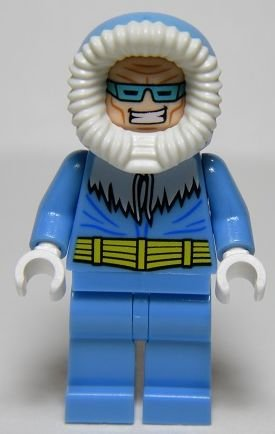Lego Captain Cold Minifigure Loose
