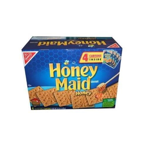 【4箱入り】ナビスコ ハニーメイドグラハムクラッカーNabisco Honey Maid Graham Crackers 4-14.4oz Boxes