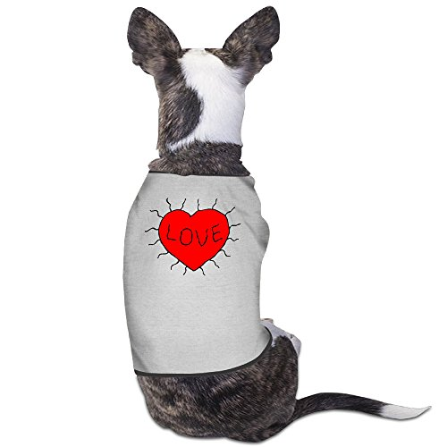 Dog Shirt Love Heart Puppy Clothing (Madeleine Clothing compare prices)