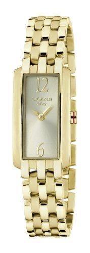 Kienzle K5092029042-00329 - Orologio da polso donna, acciaio inox, colore: giallo