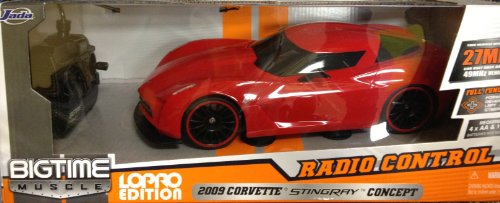 Big Time 1:16 Scale Radio Control Muscle Car - 2009 Corvette Stingray Concept