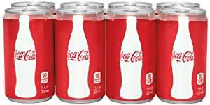 Coca-Cola Mini-Can (8 Count, 7.5 Fl Oz Each)