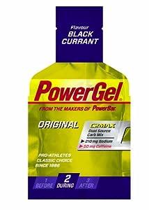 Powerbar PowerGel Schwarze Johannisbeere + Koffein, 3er Pack (3 x 41 g) by Powerbar