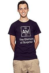 Rocket Factory AH the ELEMENT OF SURPRISE Men's T-shirt