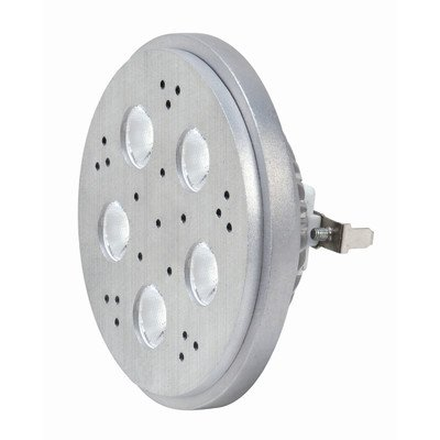 Kolourone Led Ar111 Lamp In Sliver Beam Angle: 40°, Color Temperature: 3200K