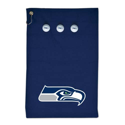 NFL-A2159714-Seattle-Seahawks-Colored-Towel-Golf-Gift-Set
