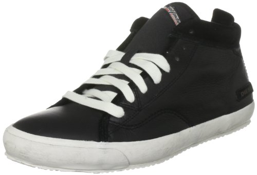 Diesel Men's Midday Black Lace Up - White Sole 9 UK