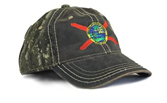 florida state flag camouflage hat camo