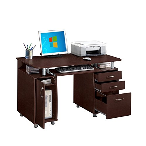 Modern Designs Multifunctional Office Desk with File Cabinet (30