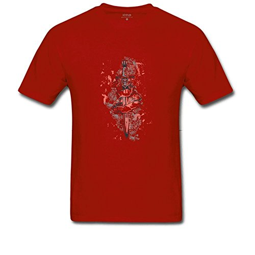 suggets Blade Nano Men's T Shirt X-Large Red