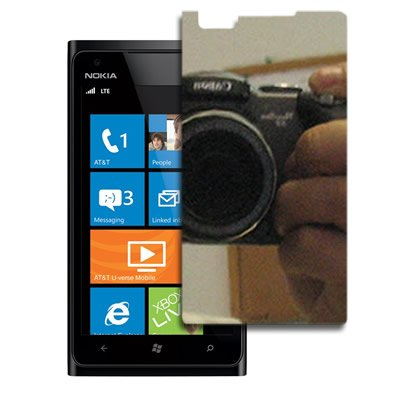 CoverON® MIRROR Screen Protector LCD Film Shield Guard Cover For NOKIA 900 LUMIA (T-MOBILE) [WCA776] (Covers For Nokia Lumia 900 compare prices)