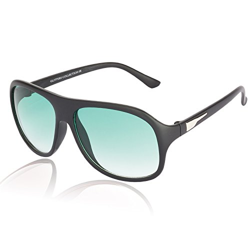 Glitters Glitters Rectangle Sunglasses (Multicolor)