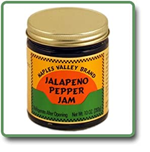 Jalapeno Pepper Jam - 11 Oz Glass Jar by Naples Valley