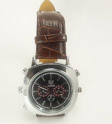 PANSIM Rich Look High Quality Wrist Watch Spy Camera (32 GB Memory)