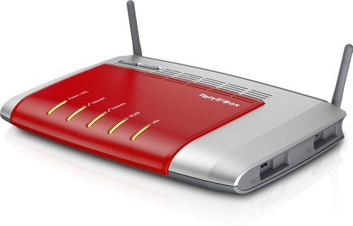 AVM FRITZ!Box 7272 Wlan Router (ADSL, 450 Mbit/s, DECT-Basis, Media Server)