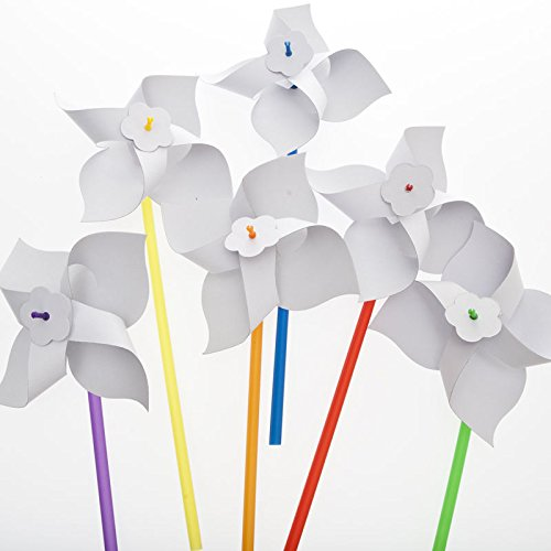 Design Your Own Paper Pinwheels