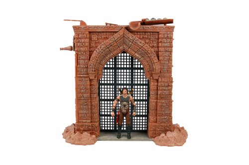 "McFarlane Toys Prince of Persia Deluxe Box Playset - Alamut Gate with 4"" Dastan Action Figure - 1"