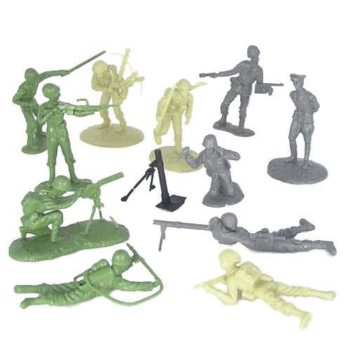 54Mm D-Day June 6, 1944 - The Invasion Of Normandy Figure Playset (34Pcs) (Bagged)Playsets