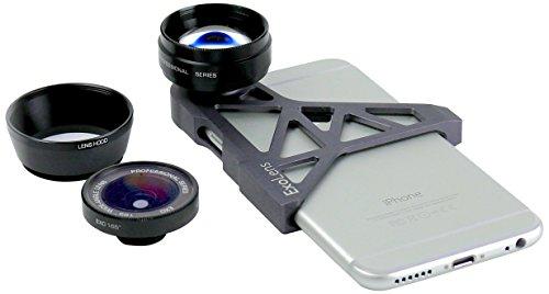 EXOLENS iPhone6専用設計 高品質ガラスレンズ&軽量アルミフレーム 9472201