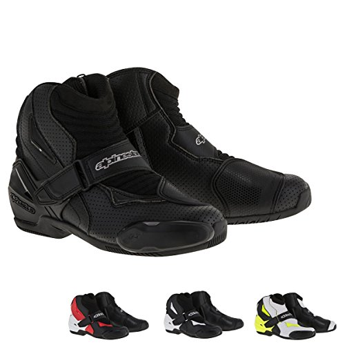 Alpinestars SMX-1 R Vented Boots 38 Black/Red