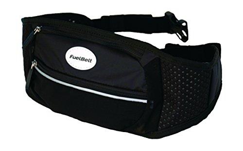FuelBelt Ultra Waistpack Hüft-taschengurt, Black, 0873855001443