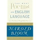 The Best Poems of the English Language: From Chaucer Through Robert Frost ~ Harold Bloom