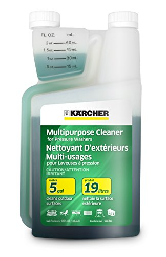 Karcher Multi-Purpose Cleaning Pressure Power Washer Detergent Soap Cleaner, 1-Quart (Karcher Power compare prices)