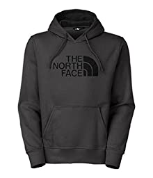 The North Face Men\'s Half Dome Hoodie Asphalt Grey/TNF Black Large