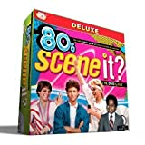 Scene It? 80s Deluxe Edition With Four Collectible Metal Tokens - Great For 2-4 Players Or Teams