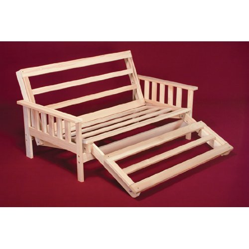 Full Size Savannah Futon Lounger Bed - Frame Only