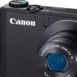 Canon デジタルカメラ PowerShot S110(ブラック) 約1210万画素 F2.0 光学5倍ズーム PSS110(BK)
