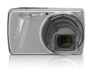 Kodak EasyShare M580 Digital Camera - Silver (14MP, 8x Optical Zoom) 3.0 inch LCD