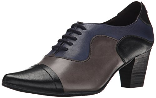 Fidji Women's V313 Oxford, Black/Grey Navy, 39 EU/9 M US (Fidji 39 compare prices)