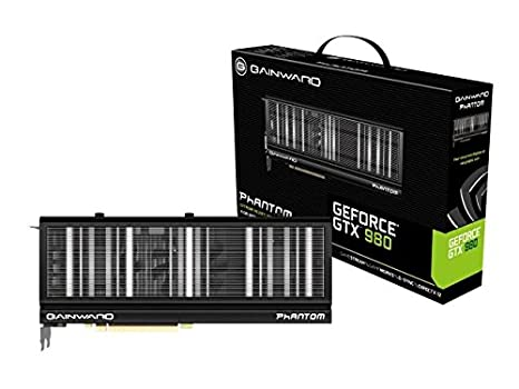 Gainward GTX980 4G Phantom Carte graphique Nvidia GeForce GTX 980 1203 MHz 4096 Mo PCI-Express