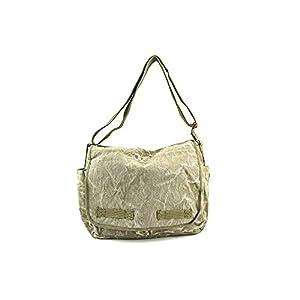 Rothco Stone Washed Messenger Bag - Olive Drab