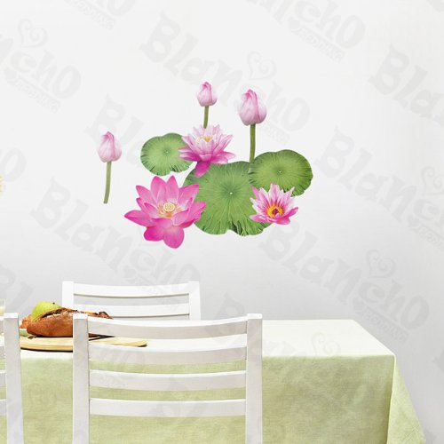 Best Lotus Blossom – Wall Decals Stickers Appliques Home Decor online