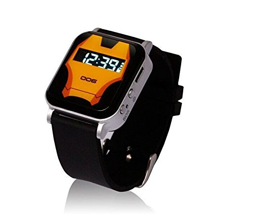Bluetooth Smart Watch For Smart Phones Android Phone With Black Color