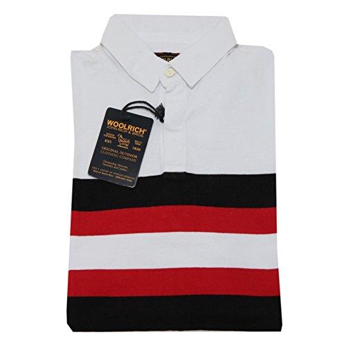 9865F polo WOOLRICH JOHN RICH & BROS MANICA LUNGA maglia uomo t-shirt men [M]