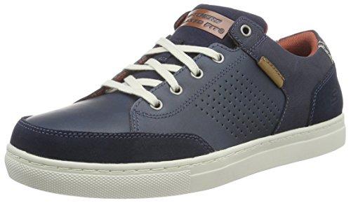 Skechers (SKEES) - Elvino- Lemen, Scarpa Tecnica da uomo, blu (nvy), 42