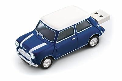 Mini Cooper S Car Blue USB Memory Stick - 2Gb by Redismo