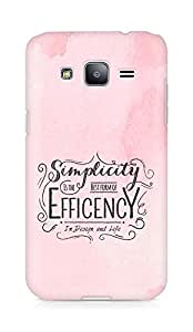 Amez Simplicity is the best form of Efficency Back Cover For Samsung Galaxy J2