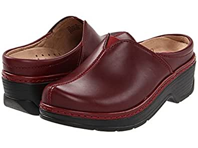 Amazon.com: Klogs Como work comfort support leather women's shoes sz
