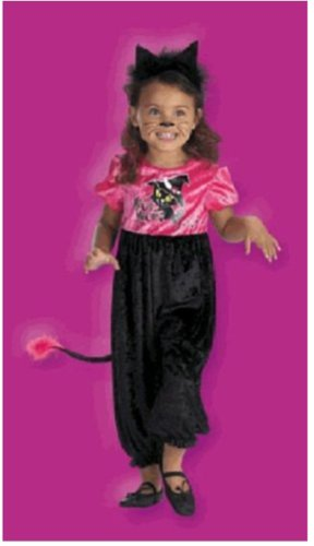 Kitty Halloween Costume - Size 3T-4T - Disguise
